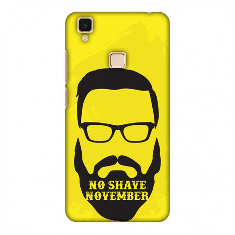 Just Bro Things : No Shave November Slim Hard Shell Case For Vivo V3 Max
