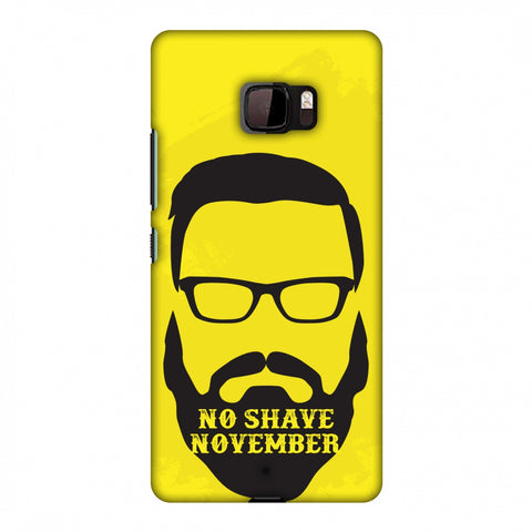 Just Bro Things : No Shave November Slim Hard Shell Case For HTC U Ultra