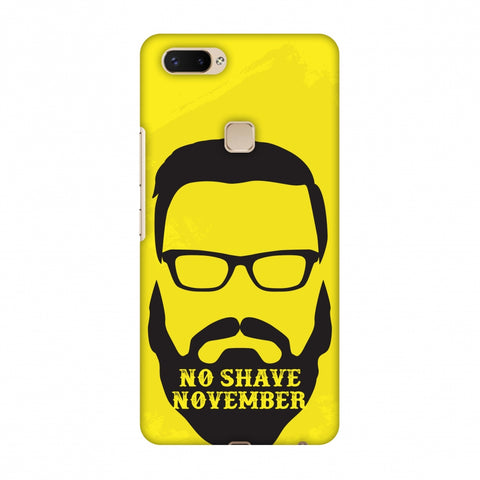Just Bro Things : No Shave November Slim Hard Shell Case For Vivo X20 Plus