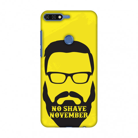 Just Bro Things : No Shave November Slim Hard Shell Case For Huawei Honor 7C
