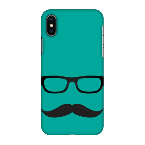 Just Bro Things : Mouch Nahi To Kuch Nahi Slim Hard Shell Case For Apple iPhone X