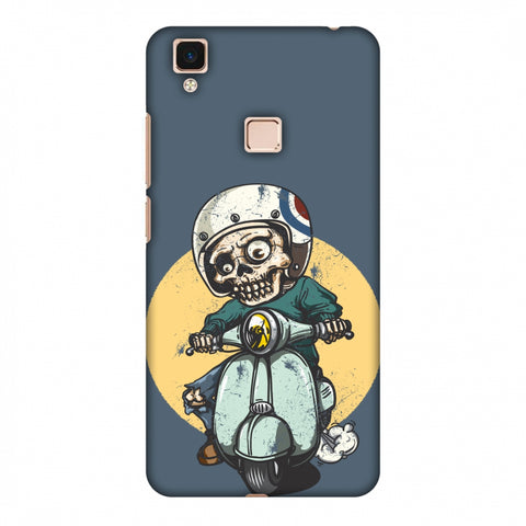 Love For Motorcycles : 1 Slim Hard Shell Case For Vivo V3 Max