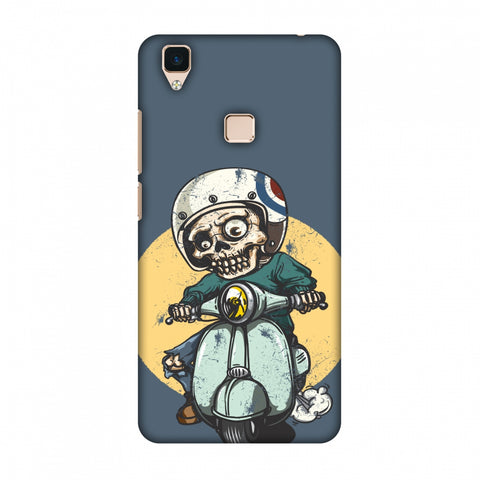 Love For Motorcycles : 1 Slim Hard Shell Case For Vivo V3