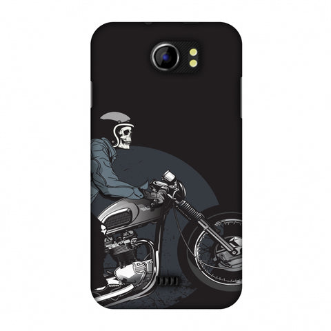 Love For Motorcycles : 2 Slim Hard Shell Case For Micromax Canvas 2 A110