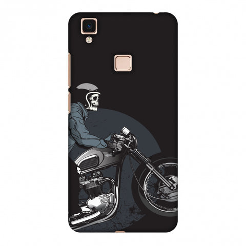 Love For Motorcycles : 2 Slim Hard Shell Case For Vivo V3 Max