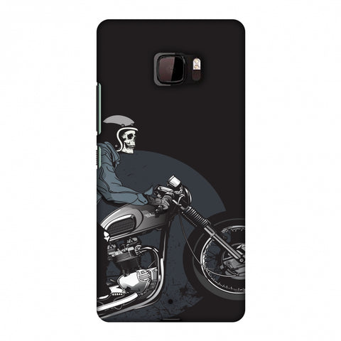 Love For Motorcycles : 2 Slim Hard Shell Case For HTC U Ultra