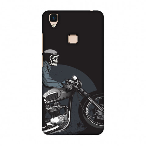 Love For Motorcycles : 2 Slim Hard Shell Case For Vivo V3