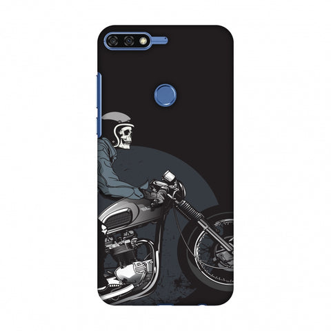 Love For Motorcycles : 2 Slim Hard Shell Case For Huawei Honor 7C