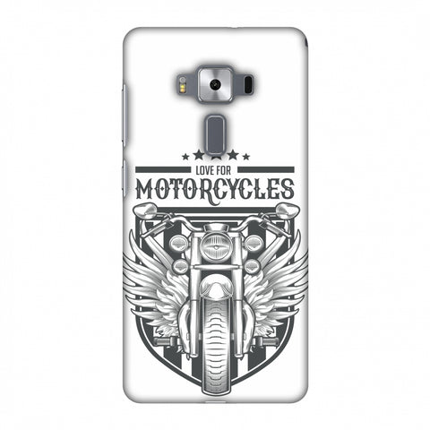 Love For Motorcycles : 3 Slim Hard Shell Case For Asus Zenfone 3 Deluxe ZS570KL