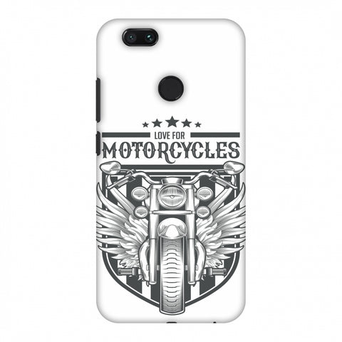Love For Motorcycles : 3 Slim Hard Shell Case For Xiaomi MI A1-5X