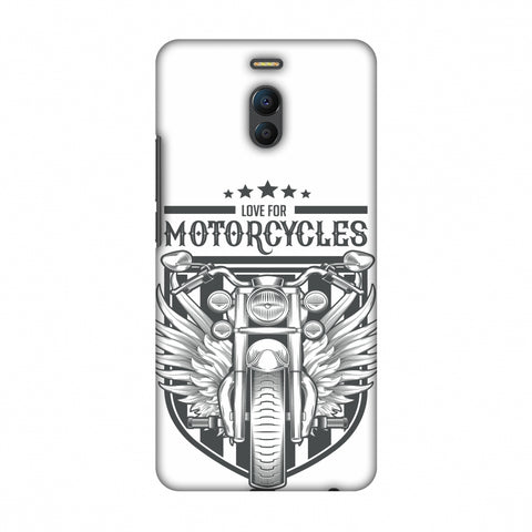 Love For Motorcycles : 3 Slim Hard Shell Case For Meizu Note 6