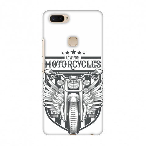 Love For Motorcycles : 3 Slim Hard Shell Case For Vivo X20 Plus