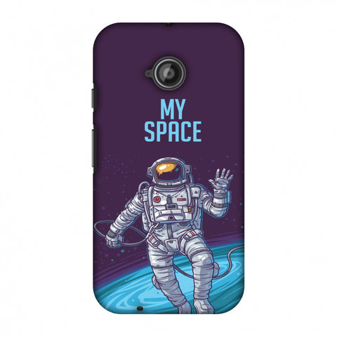 I Need My Space Slim Hard Shell Case For Motorola Moto E 2nd Gen