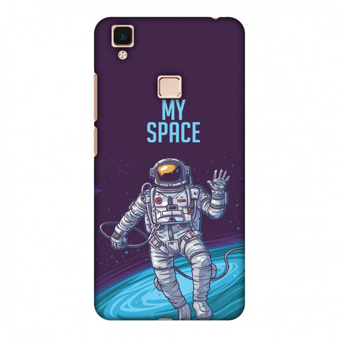 I Need My Space Slim Hard Shell Case For Vivo V3 Max