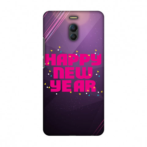 Happy New Year Slim Hard Shell Case For Meizu Note 6