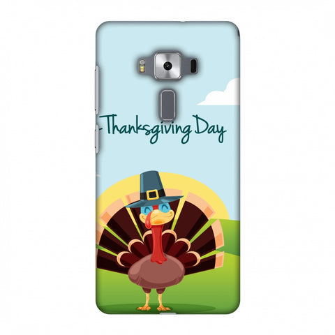 Thanksgiving:Wise Turkey 2 Slim Hard Shell Case For Asus Zenfone 3 Deluxe ZS570KL