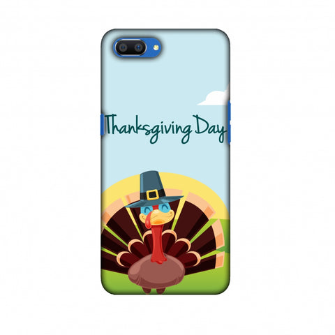 Thanksgiving:Wise Turkey 2 Slim Hard Shell Case For Oppo Realme C1