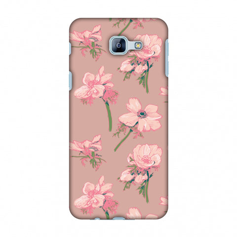 Floral Beauty Slim Hard Shell Case For Samsung Galaxy A8 2016