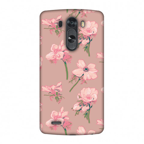 Floral Beauty Slim Hard Shell Case For LG G4