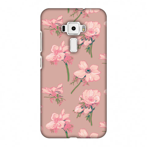 Floral Beauty Slim Hard Shell Case For Asus Zenfone 3 ZE520KL