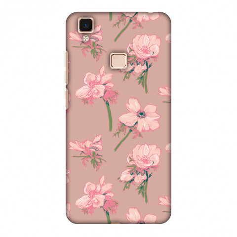 Floral Beauty Slim Hard Shell Case For Vivo V3 Max