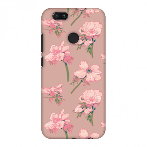 Floral Beauty Slim Hard Shell Case For Xiaomi MI A1-5X