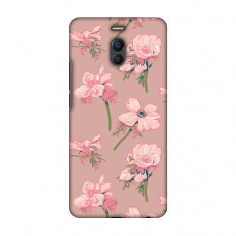 Floral Beauty Slim Hard Shell Case For Meizu Note 6