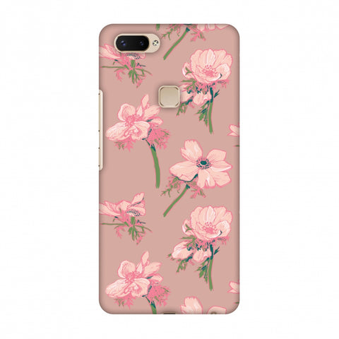 Floral Beauty Slim Hard Shell Case For Vivo X20 Plus
