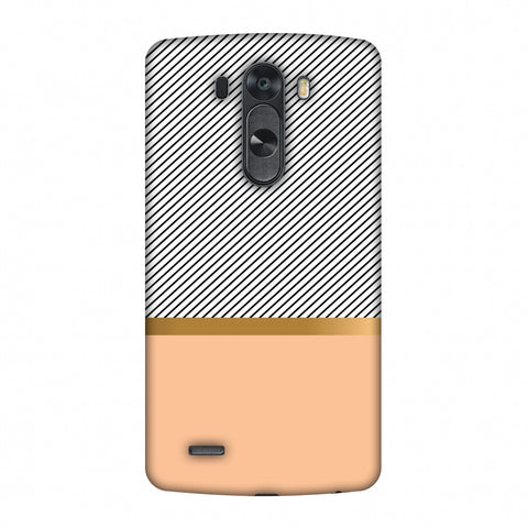 Stripe Away Slim Hard Shell Case For LG G4