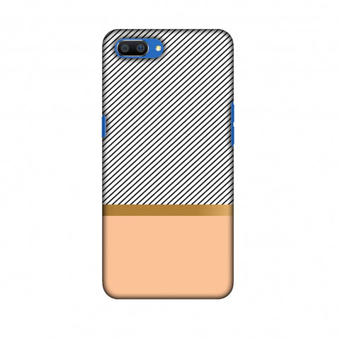 Stripe Away Slim Hard Shell Case For Oppo Realme C1