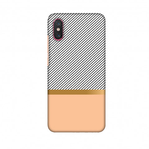 Stripe Away Slim Hard Shell Case For Xiaomi Mi 8 Pro