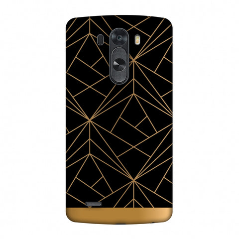 Golden Elegance II Slim Hard Shell Case For LG G4