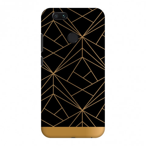 Golden Elegance II Slim Hard Shell Case For Xiaomi MI A1-5X