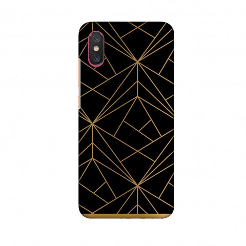 Golden Elegance II Slim Hard Shell Case For Xiaomi Mi 8 Pro