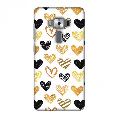 I Heart Hearts Slim Hard Shell Case For Asus Zenfone 3 Deluxe ZS570KL