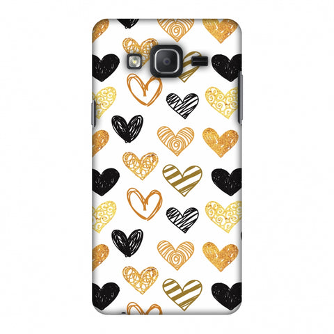 I Heart Hearts Slim Hard Shell Case For Samsung Galaxy On 5