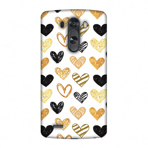 I Heart Hearts Slim Hard Shell Case For LG G4
