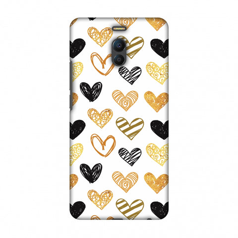 I Heart Hearts Slim Hard Shell Case For Meizu Note 6