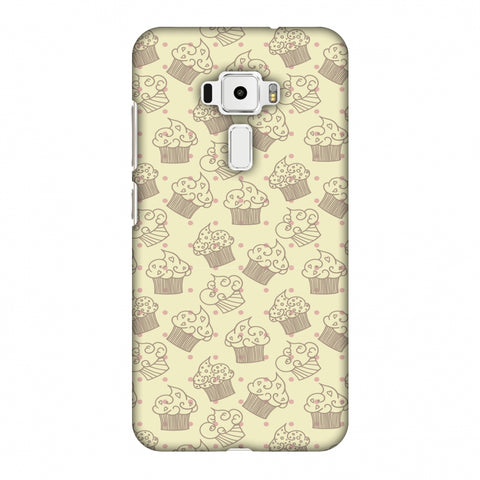 Soul Foods: Muffins Slim Hard Shell Case For Asus Zenfone 3 ZE520KL