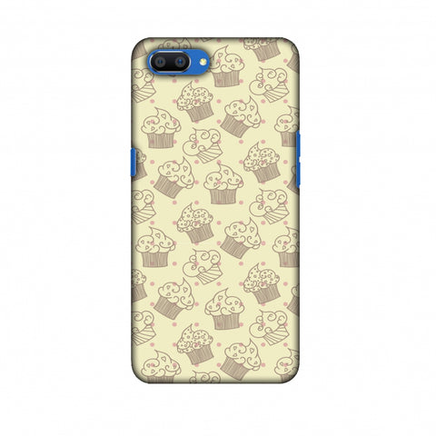 Soul Foods: Muffins Slim Hard Shell Case For Oppo Realme C1