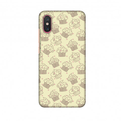 Soul Foods: Muffins Slim Hard Shell Case For Xiaomi Mi 8 Pro