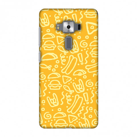 Soul Foods: Junk Slim Hard Shell Case For Asus Zenfone 3 Deluxe ZS570KL