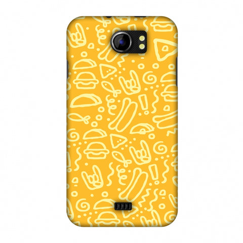 Soul Foods: Junk Slim Hard Shell Case For Micromax Canvas 2 A110