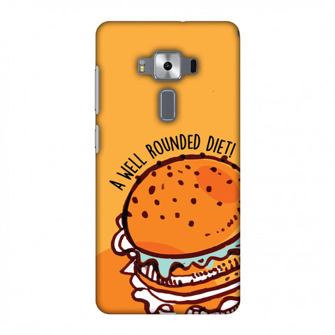 Soul Foods: Burger Slim Hard Shell Case For Asus Zenfone 3 Deluxe ZS570KL