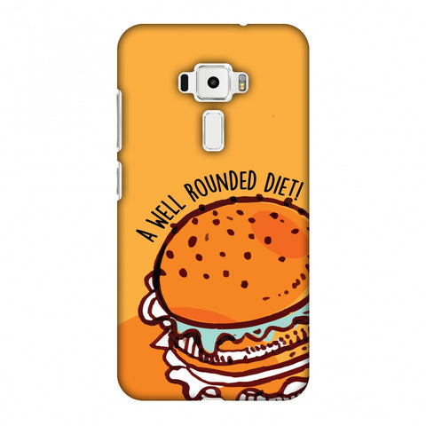 Soul Foods: Burger Slim Hard Shell Case For Asus Zenfone 3 ZE520KL