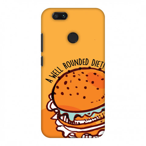 Soul Foods: Burger Slim Hard Shell Case For Xiaomi MI A1-5X