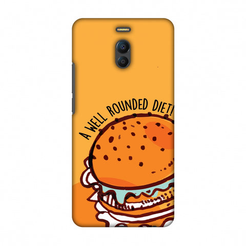Soul Foods: Burger Slim Hard Shell Case For Meizu Note 6