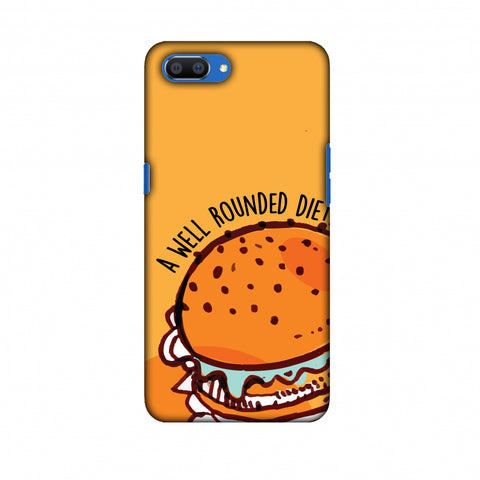 Soul Foods: Burger Slim Hard Shell Case For Oppo Realme C1