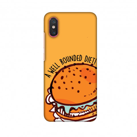 Soul Foods: Burger Slim Hard Shell Case For Xiaomi Mi 8 Pro
