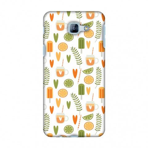 Once Upon A Summer Slim Hard Shell Case For Samsung Galaxy A8 2016